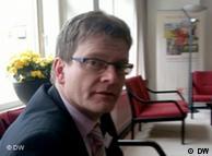 Chefvolkswirt der NORD/LB, Tagung in Loccum (Niedersachsen) zu Griechenlandkrise, 26.03.11, Foto: Stamatis Assimenios DW/griechisch