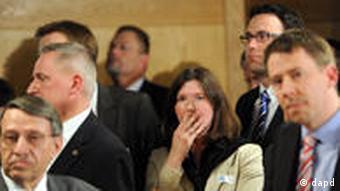 Shocked Christian Democrats