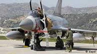 Mirage 2000 jet fighter at