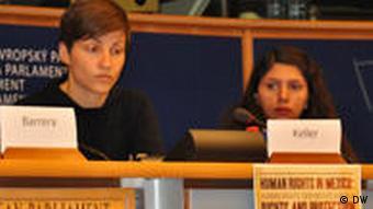 Franziska Keller (MEP) und Bárbara Méndez Moreno