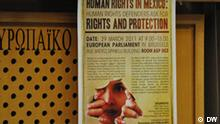 Konferenz Human rights defenders ask for rights and protection im Europäischen Parlament