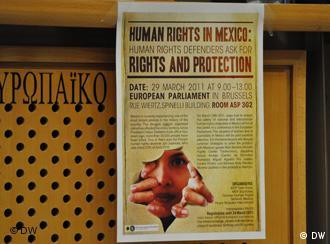 Defensores de derechos humanos demandan derechos y protección