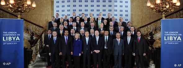 کنفرانس بینالمللی لندن در موضوع لیبی با شرکت وزیران خارجهی حدود ۴۰ کشور