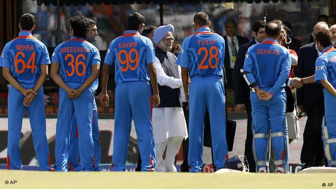 Cricket World Cup Semifinal India Pakistan Flash-Galerie