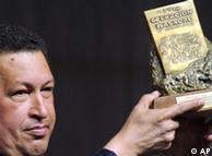 Chávez, al recibir el premio Rodolfo Walsh.