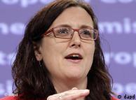 Comisarul UE pentru Afaceri Interne, Cecilia Malmström