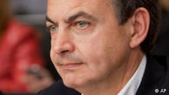 Spanish PM Jose Luis Rodriguez Zapatero
