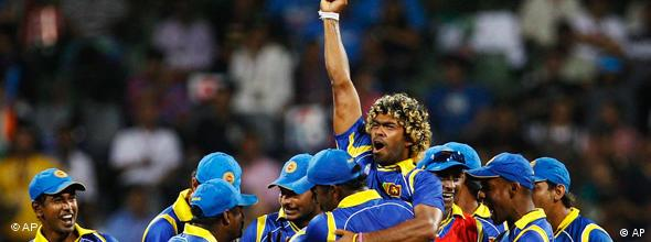 NO FLASH World Cup Cricket 2011 Finale Indien Sri Lanka