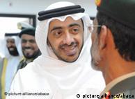 شیخ عبدالله بن زاید آل نهیان، وزیر امور خارجه امارات متحده عربی
