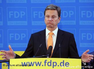 گیدو وستر وله، رئیس حزب دمکراتهای آزاد آلمان