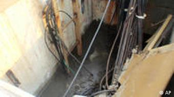 In this Saturday, April 2, 2011 photo released by Tokyo Electric Power Co. (TEPCO), the inside view of the maintenance pit of Unit 2 reactor, where highly radioactive water spilled into the sea through a crack, is photographed before pouring concrete into it to keep from further leas, at Fukushima Dai-ichi nuclear power plant in Okumamachi, Fukushima Prefecture, northeastern Japan. Highly radioactive water was leaking into the sea Saturday from a crack discovered at the nuclear power plant destabilized by last month's earthquake and tsunami, a new setback as frustrated survivors of the disasters complained that Japan's government was paying too much attention to the nuclear crisis. (AP Photo/Tokyo Electric Power Co.) EDITORIAL USE ONLY