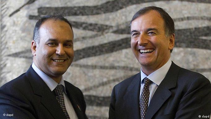 Frattini und al-Essawi (Foto: AP)