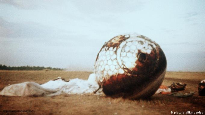 Flash-Galerie Juri Gagarin Landekapsel