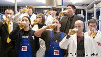 TU Alk-freies Bier - Das Team vom Fachgebiet Brauwesen