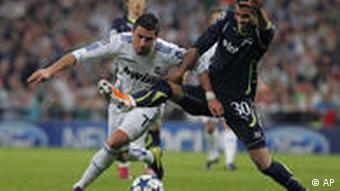 Fussball Champions League Real Madrid gegen Tottenham Hotspur