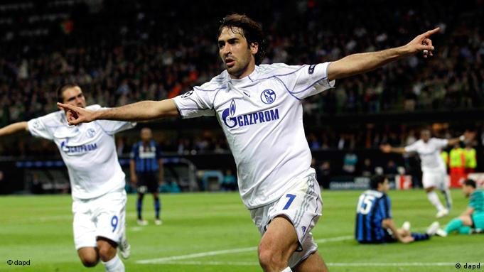 Fussball Champions League Inter Mailand gegen FC Schalke 04 Flash-Galerie