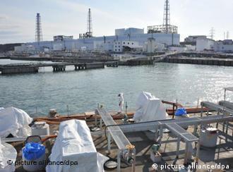 Zerstörtes AKW Fukushima-Daiichi (Archivfoto: dpa)