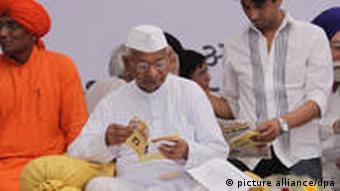 Social activist Anna Hazare has led fight against corruption