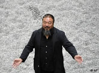 Ai Weiwei's work is currently on display in the Turbine Hall at Tate Modern in London