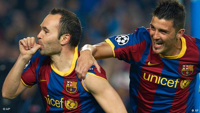 Flash-Galerie Champions League Donetsk vs Barcelona