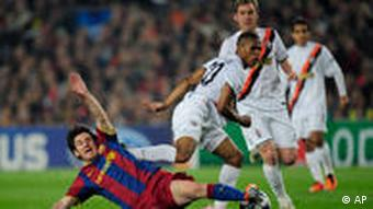Flash-Galerie Champions League Barcelona vs Donezk
