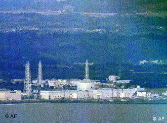 The Fukushima Dai-ichi nuclear power plant