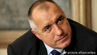 Bulgarischer Premierminister Boyko Borissov