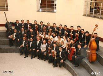 Das Nationale Irakische Jugendsinfonieorchester(National Youth Orchestra of Iraq) (Foto: NYOI)