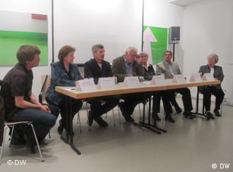 Участники дискуссии, посвященной аварии на чернобыльской АЭС