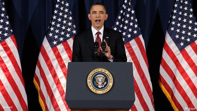 Barack Obama zu Libyen in Washington Flash-Galerie