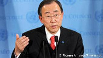 Ban Ki Moon Pressekonferenz New York