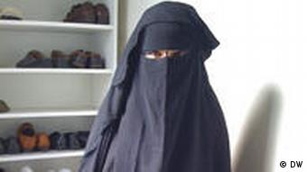 Somey in the niqab