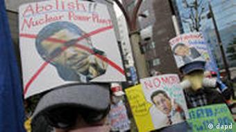 Japan Anti Atomkraft Proteste Demonstration