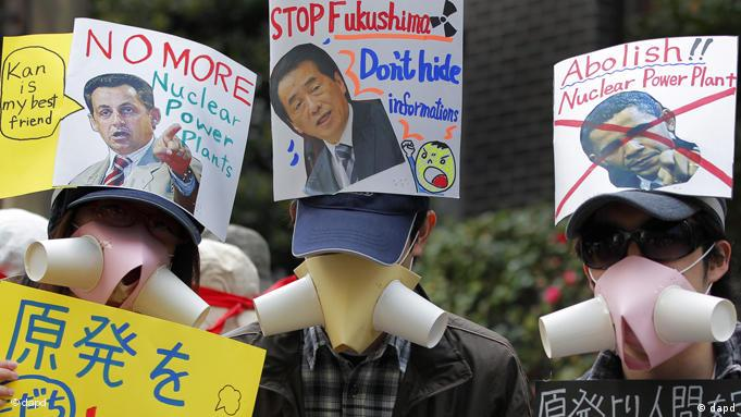 Japan Anti Atomkraft Proteste Demonstration Flash-Galerie