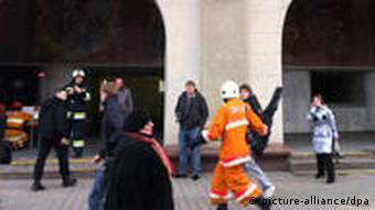 После взрыва в минском метро, апрель 2011 года