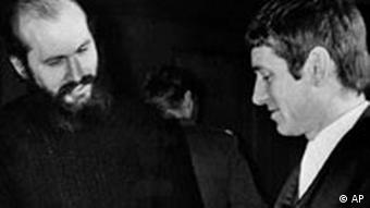 Horst Mahler und Otto Schily 1972