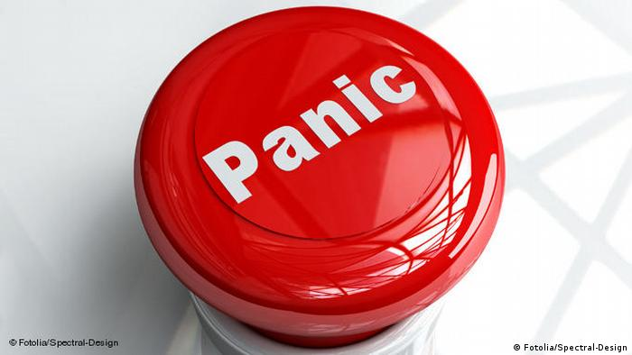 Flash-Galerie Symbolbild Panic Button (Fotolia/Spectral-Design)