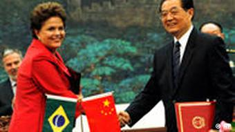 Dilma Rousseff und Hu Jintao in China