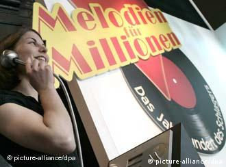 The Schlager was the subject of a 2008 exhibition in Bonn titled Melodies for Millions. Photo: Jörg Carstensen dpa
