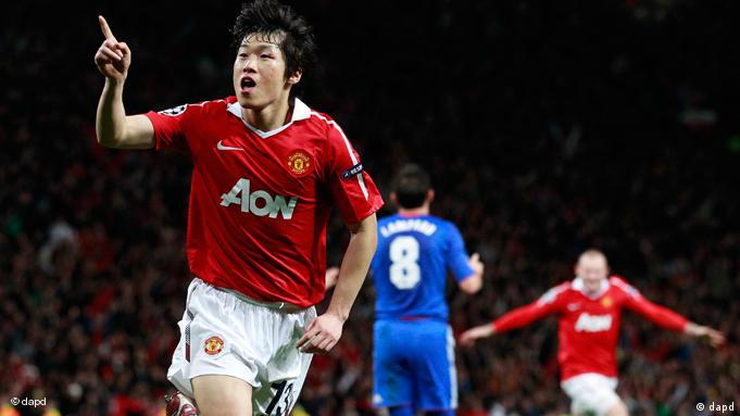 Maçta son sözü United'ın Güney Korelisi Park söyledi