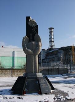 En memoria de las víctimas de Chernobil.