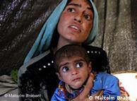 A mother and child in Pakistan