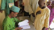 Wahlen Nigeria Stimmabgabe Wahllokal