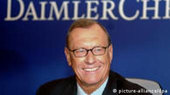 Бывший глава немецкого концерна Daimler-Benz Юрген Шремп