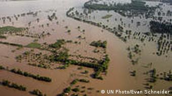 Flooding in Punjab Province, Pakistan