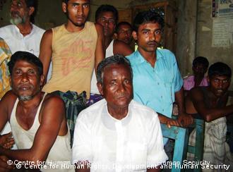 Bangladesch, Indien löst Grenzproblem - Menschen die in einer der Enklaven leben