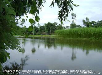 Bangladesch, Indien löst Grenzproblem - Ein Fluss welcher in Teilen sowohl zu Indien als auch zu Bangladesch gehört