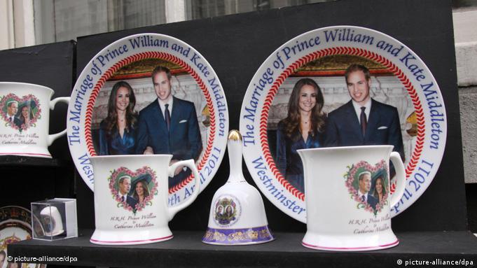 Flash-Galerie Hochzeit Kate Middleton Prinz William England