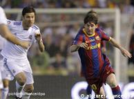 آمال برشلونة معلقة على ميسي لتحقيق الفوز الثالث على التوالي بكأس السوبر