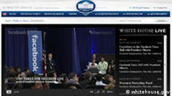 Screenshot Obama Weißes Haus